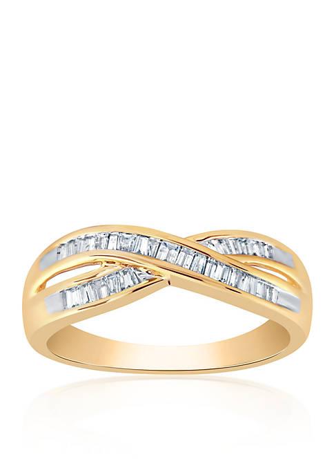 Belk & Co. 0.32 ct. t.w. Diamond Ring