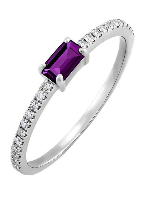 Belk & Co. 1/3 ct. t.w. Amethyst and