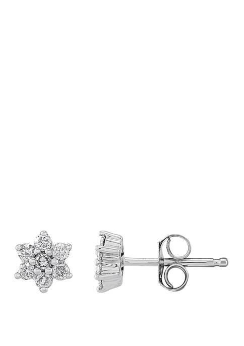 1/5 ct. t.w. Diamond Diamond Earrings in 10K White Gold