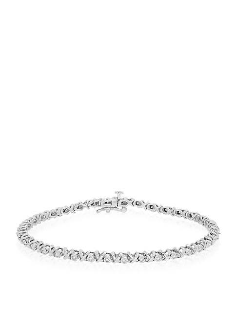 Belk & Co. 0.25 ct. t.w. Diamond Bracelet