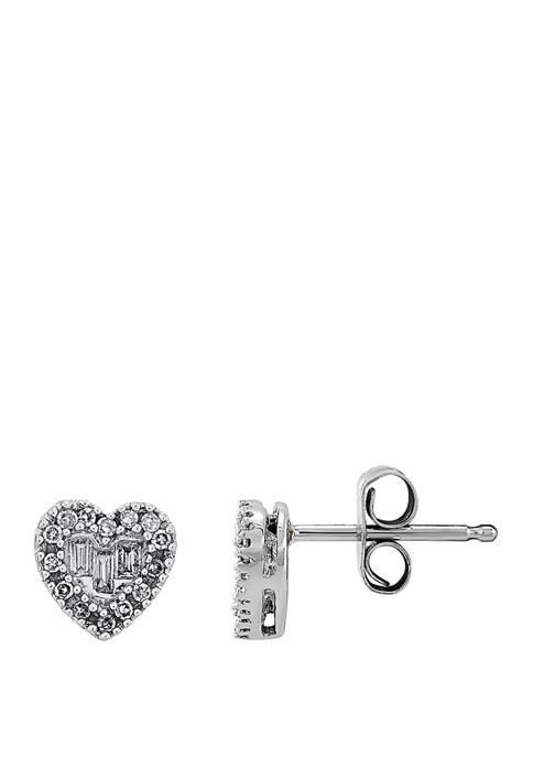 Belk & Co. 1/8 ct. t.w. Diamond Earrings