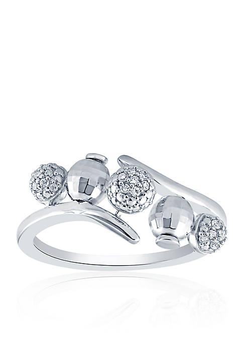 Belk & Co. 0.105 ct. t.w. Diamond Ring