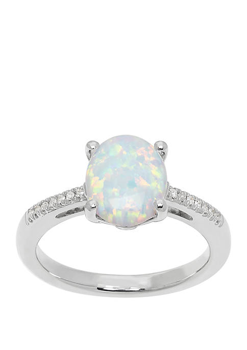 Belk & Co. 7/8 ct. t.w. Created Opal