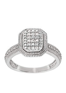 a922c51b8 t.w. Diamond Ring in Sterling Silver