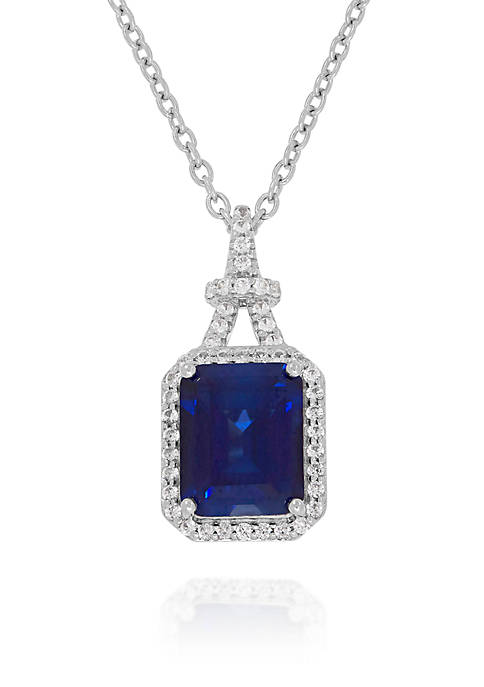 Belk & Co. Created Sapphire and Created White