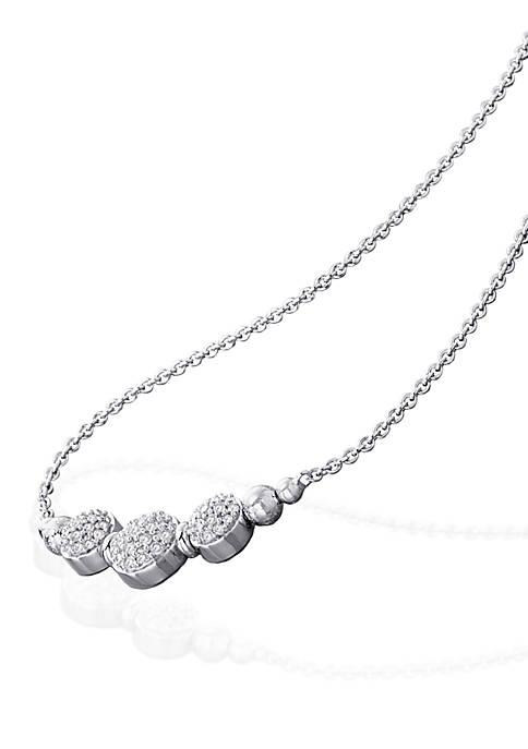 Belk & Co. 0.21 ct. t.w. Diamond Necklace