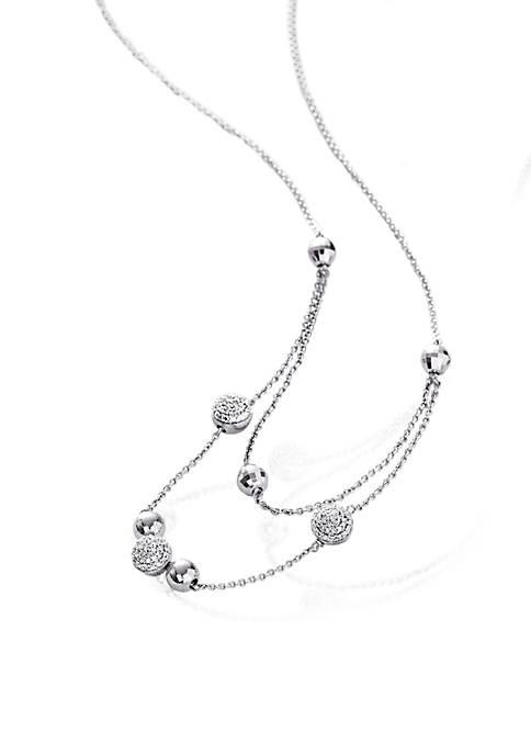 Belk & Co. 0.14 ct. t.w. Diamond Necklace