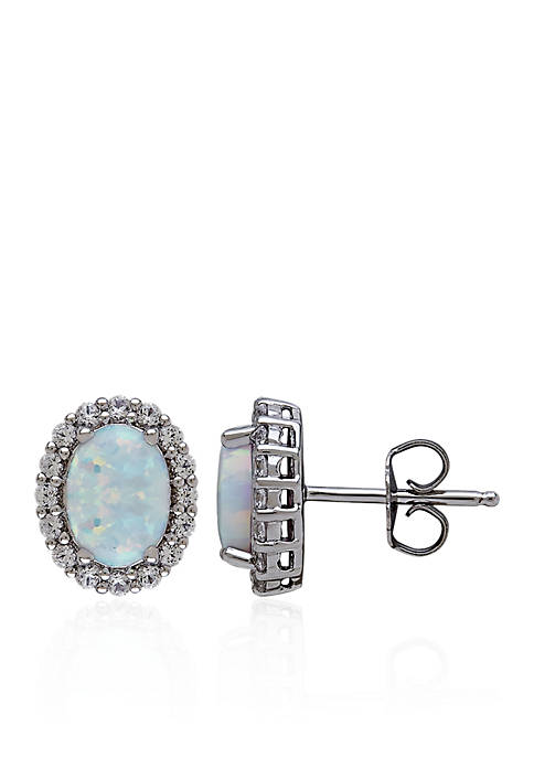 Belk & Co. Created Opal & Created White