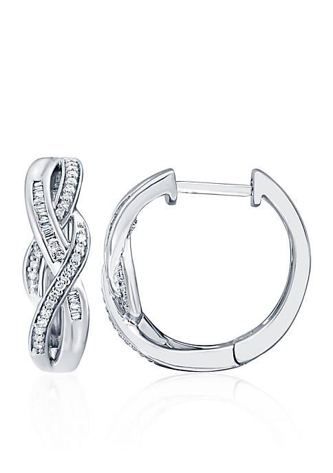 Belk & Co. 0.26 ct. t.w. Diamond Swirl