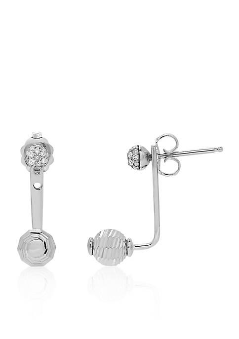 Belk & Co. 0.104 ct. t.w. Diamond Earrings
