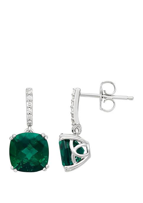 Belk & Co. 4.4 ct. t.w. Created Emerald