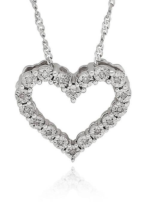Belk & Co. .05 ct. t.w. Diamond Heart