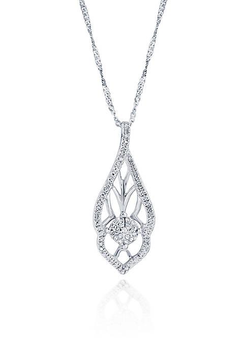 Belk & Co. 0.10 ct. t.w. Diamond Pendant