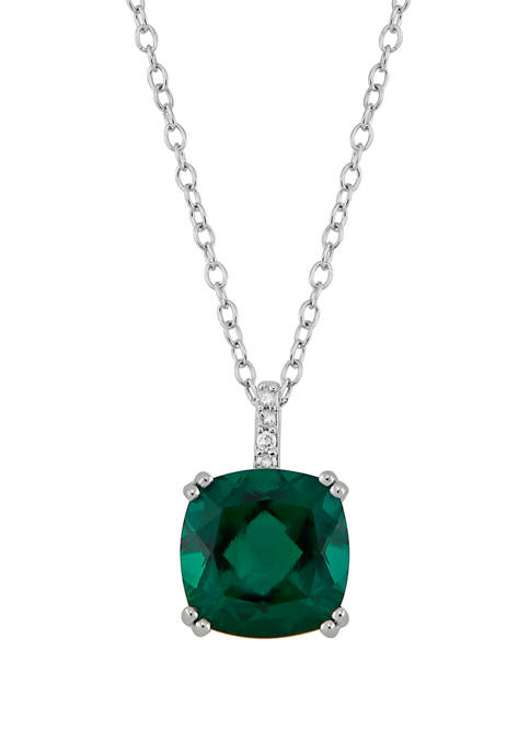 Belk & Co. 3 ct. t.w. Emerald and
