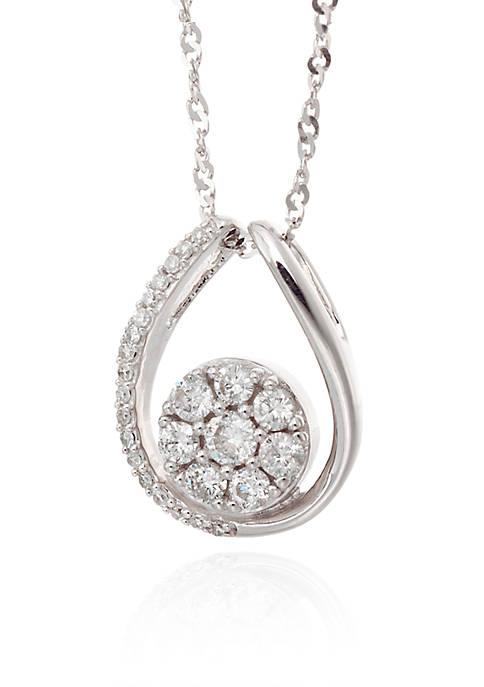 Belk & Co. 0.375 ct. t.w. Diamond Pendant