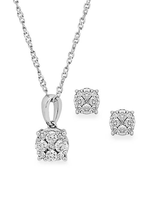 Belk & Co. 0.50 ct. t.w. Diamond Earrings