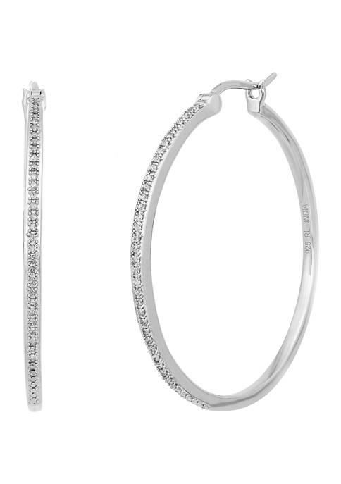 Belk & Co. 1/5 ct. t.w. Diamond Hoop