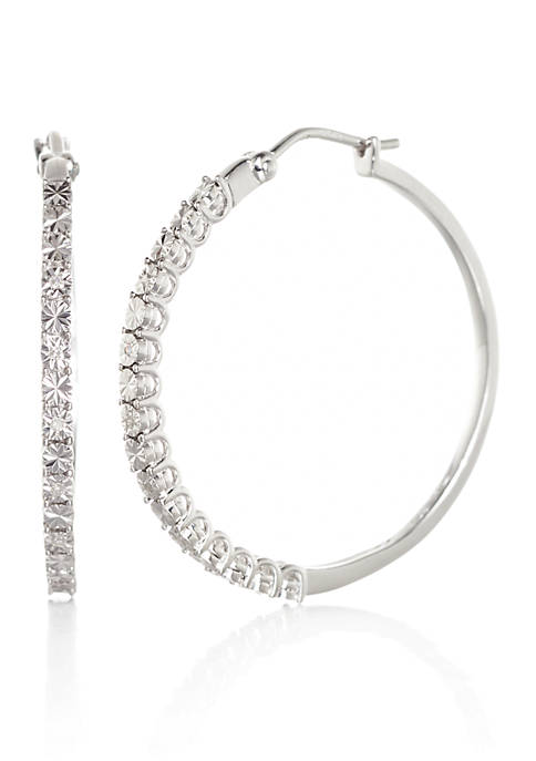 Belk & Co. 0.033 ct. t.w. Diamond Hoop