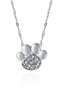 0.013 ct. t.w. Diamond Pendant in Sterling Silver