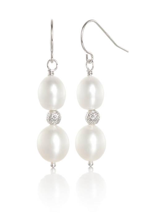 Belk & Co. Freshwater Pearl Drop Earrings in