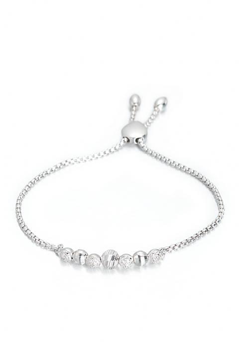 Belk & Co. Diamond Multi Bead Bracelet in