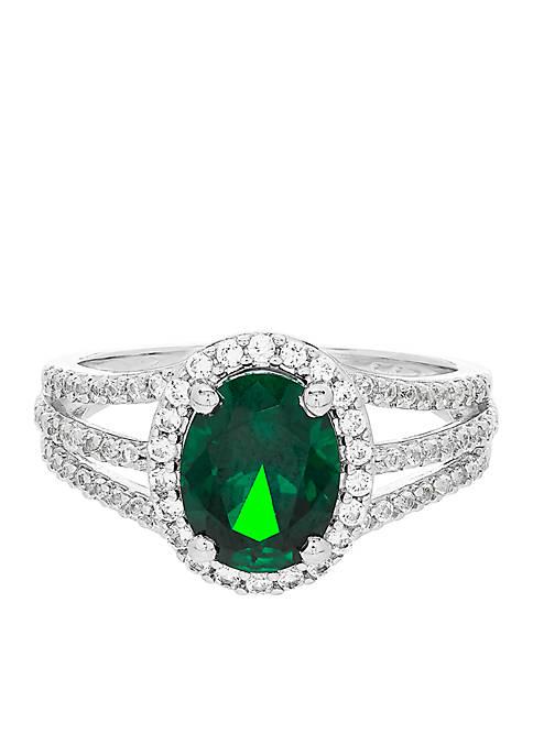 Belk & Co. 1.76 ct. t.w. Created Emerald