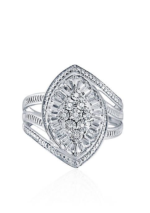 Belk & Co. 0.10 ct. t.w. Diamond Ring