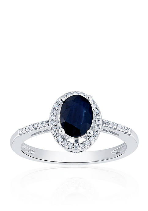 Belk & Co. Sapphire and Diamond Ring in