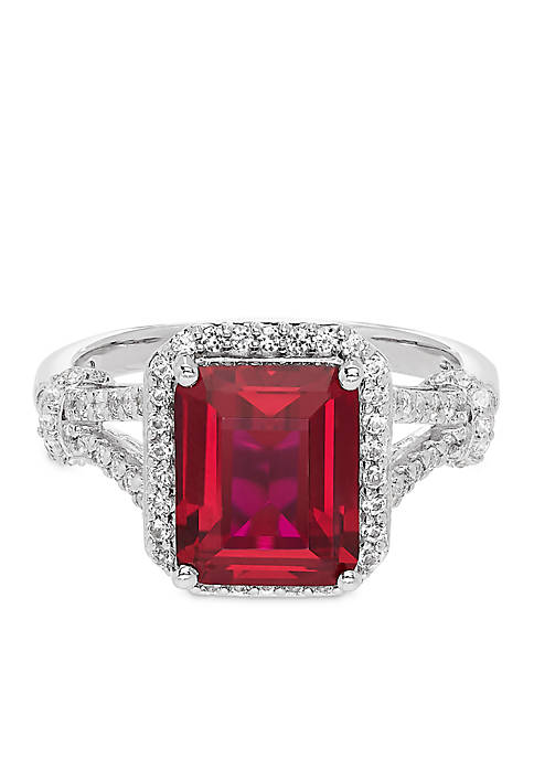 Belk & Co. 4.20 ct. t.w. Created Ruby