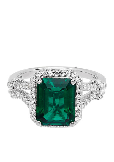Belk & Co. 2.80 ct. t.w. Created Emerald