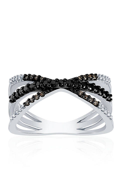 .265 ct. t.w. Diamond Band in Sterling Silver