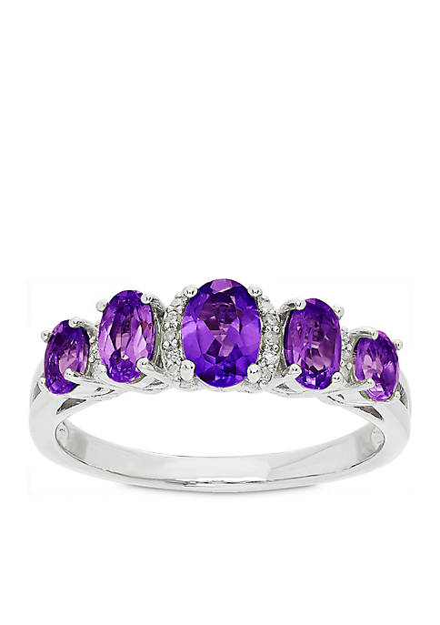 Belk & Co. 1.12 ct. t.w. Amethyst and