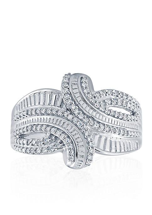 0.26 ct. t.w. Diamond Band Ring in Sterling Silver