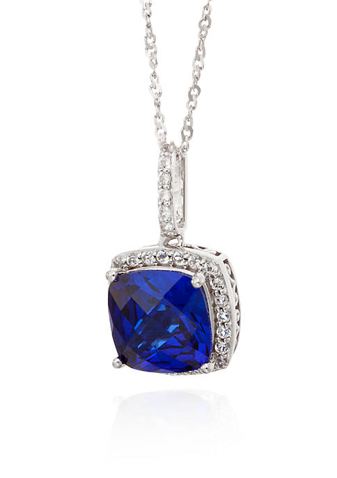Belk & Co. Created Sapphire and White Topaz