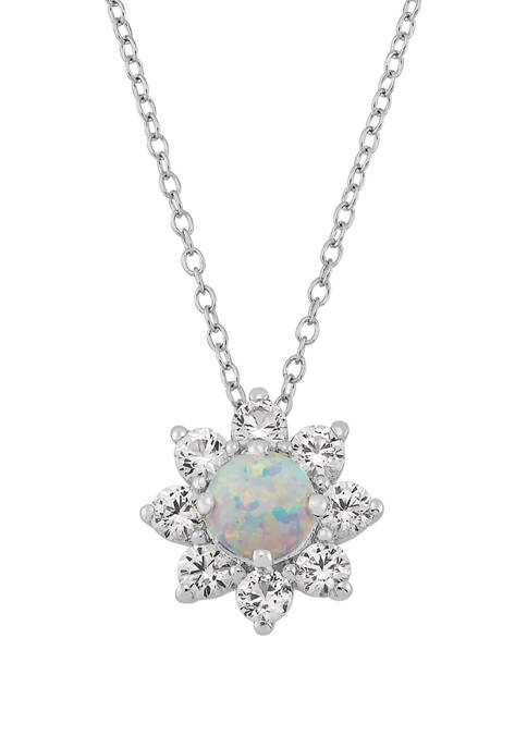 Belk & Co. Created Opal and Created White