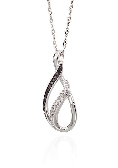 Belk & Co. 0.13 ct. t.w. Diamond Pendant