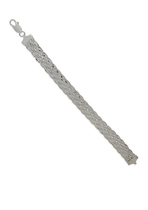 Belk & Co. Sterling Silver Tennis Bracelet