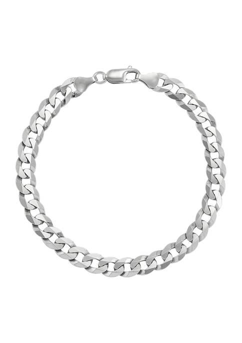 Belk & Co. 6.9 Millimeter Curb Chain Bracelet