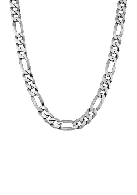 Belk & Co. 24 Inch Figaro Chain Necklace