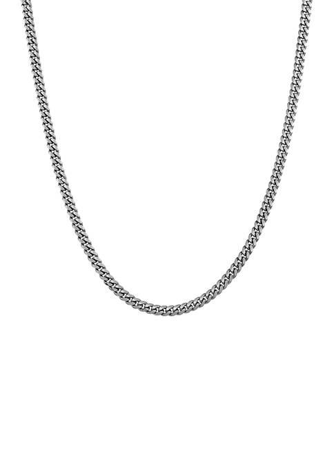 22 Inch Chain Necklace in Sterling Silver