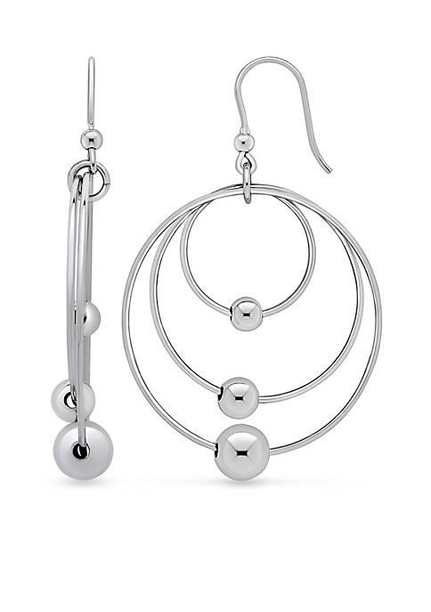 Belk & Co. Sterling Silver Gypsy Hoop Earrings