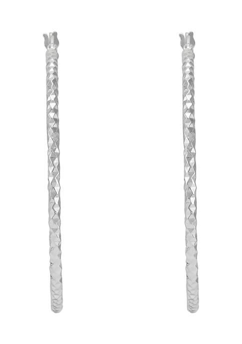 Belk & Co. 40 Millimeter Round Tube Hoop
