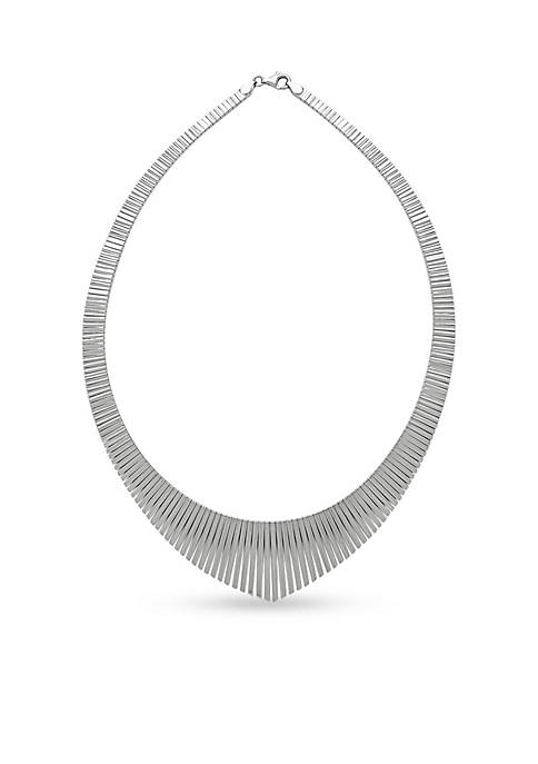 Sterling Silver Cleo Collar Necklace