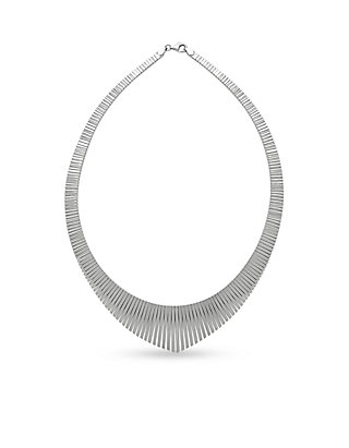 a35559d9e43c67 Belk & Co. Belk & Co. Sterling Silver Cleo Collar Necklace