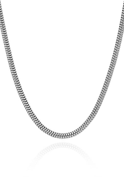 Belk & Co. Sterling Silver Round Snake Chain