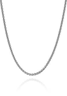 Belk & Co. Sterling Silver Spiga Chain Necklace