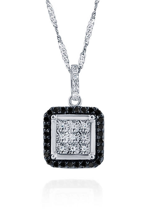 Belk & Co. 0.20 ct. t.w. Black and