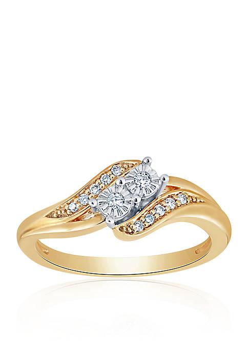Belk & Co. 0.478 ct. t.w. Diamond Ring