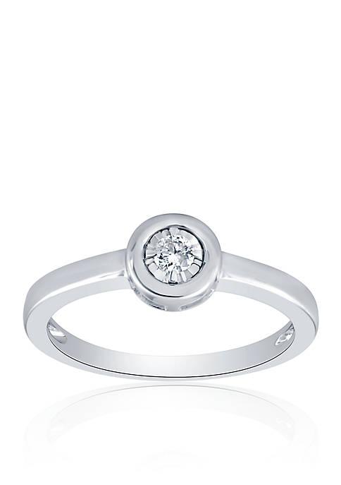 Belk & Co. 1/10 ct. t.w. Diamond Ring