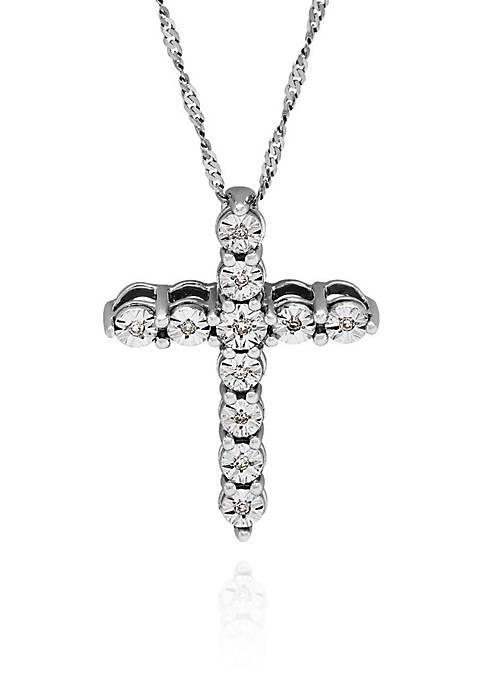Belk & Co. 0.05 ct. t.w. Diamond Cross